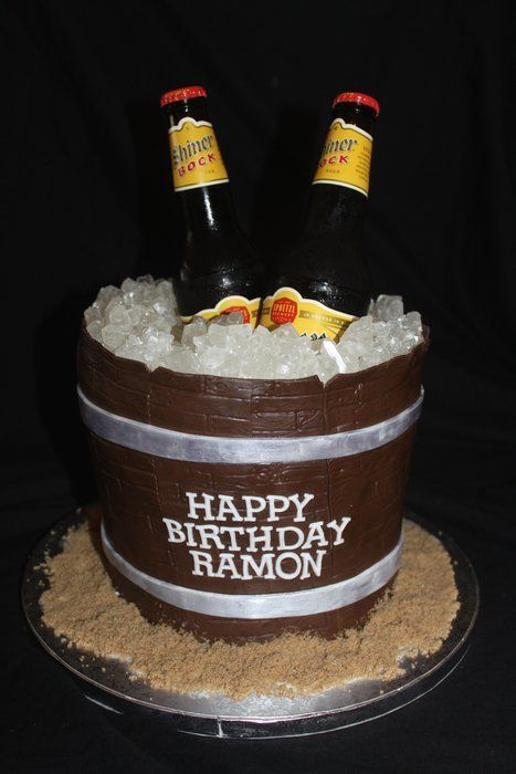 beer cake!!!! Cake Decorating Ideas Pinterest