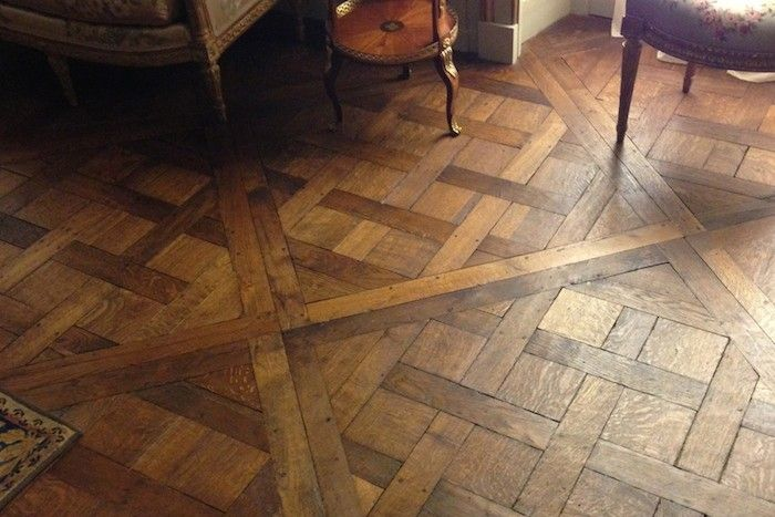 Remodeling 101 wood flooring patterns by for Wood floor designs and patterns