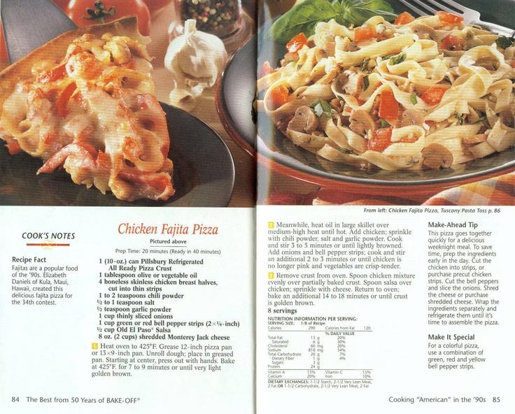 Chicken Fajita Pizza | Old Fashioned Recipes | Pinterest