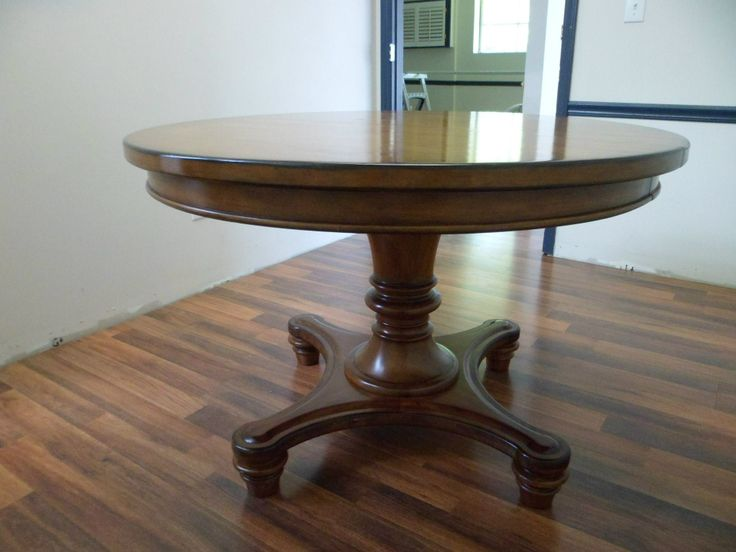 The plain table before any work has been done on it