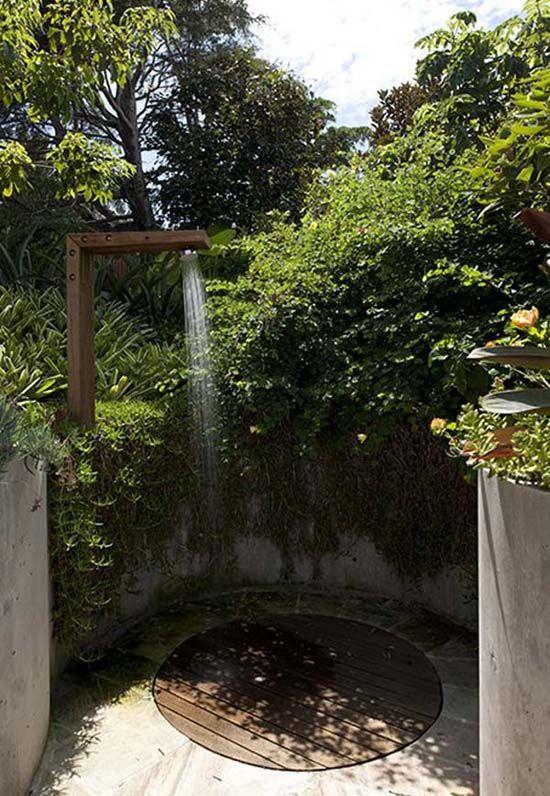 Outdoor Showers Beautiful Outdoors Pinterest