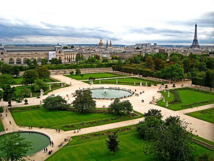 Tuileries garden paris france places pinterest for Jardins tuileries paris france