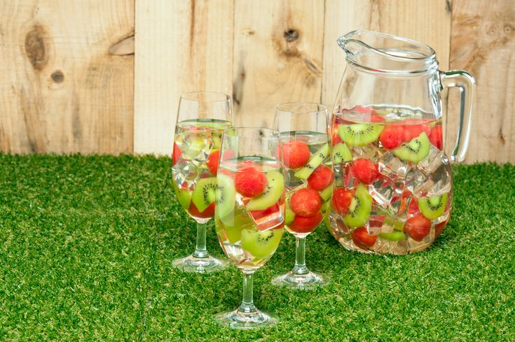 Sangria Blanca | Bebidas | Pinterest