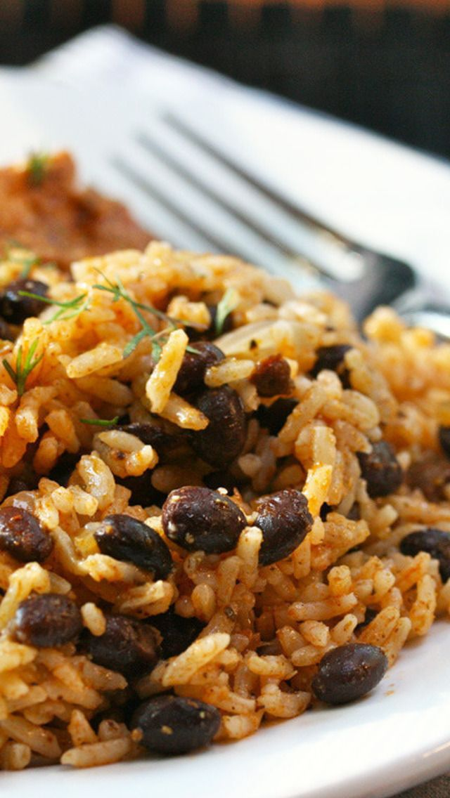 Quick and Easy Black Beans and Rice | Grains & Pasta | Pinterest