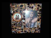 Shimmer... Pretty Little Things Paris theme mixed media mosaic frame