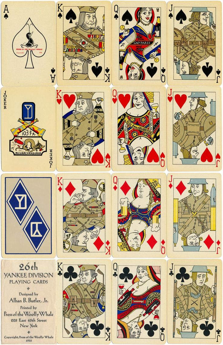 division with playing cards