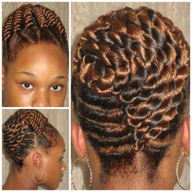 Natural Corkscrew Hair