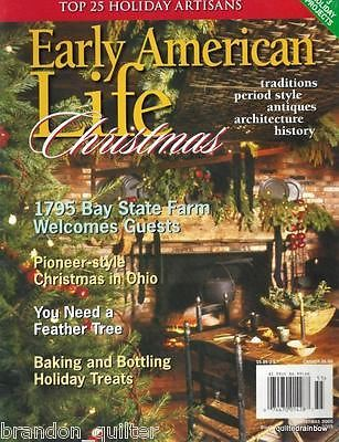 -9- Early American Life / Homes Magazines 2000-1-2-3 *4* Christmas/Dec Issues