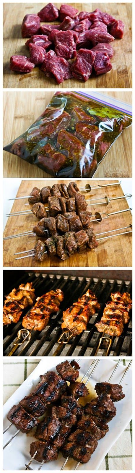 Marinated Beef Kabobs - Best Food Cloud | WHAT'S FOR DINNER | Pintere ...