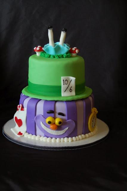 alice in wonderland cake baby shower ideas pinterest