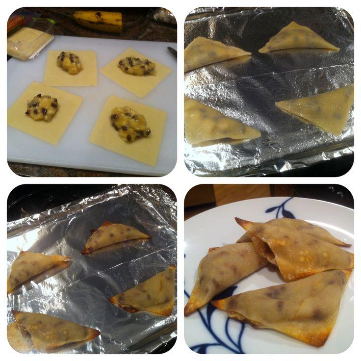 Chocolate Wontons Recipe — Dishmaps
