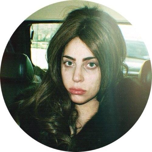 Gaga looking mad tired