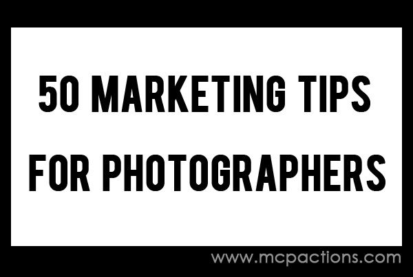 50 Marketing Tips for Photographers | Photography tips | Pinterest: pinterest.com/pin/161566705353327768