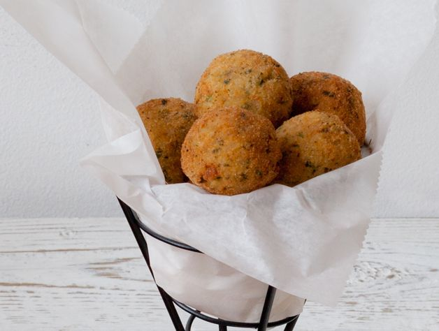 ... rice balls brown rice arancini or fried rice balls with three cheeses