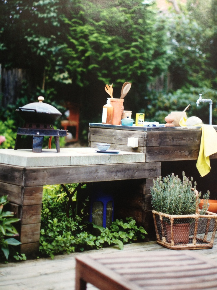 diy outdoor kitchen the never ending story pinterest