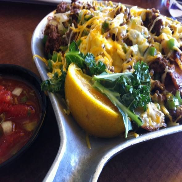 Spanish Scramble for lunch at Kick Back Jacks's sounds delish!