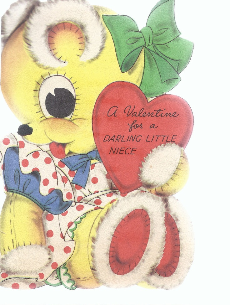 teddy bear valentines day pop up card