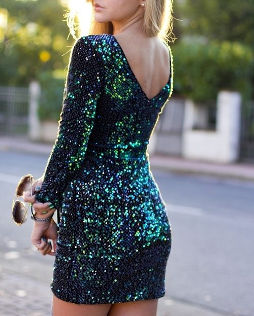 peacock-colored glitter dress http://www.studentrate.com/fashion/fashion.aspx