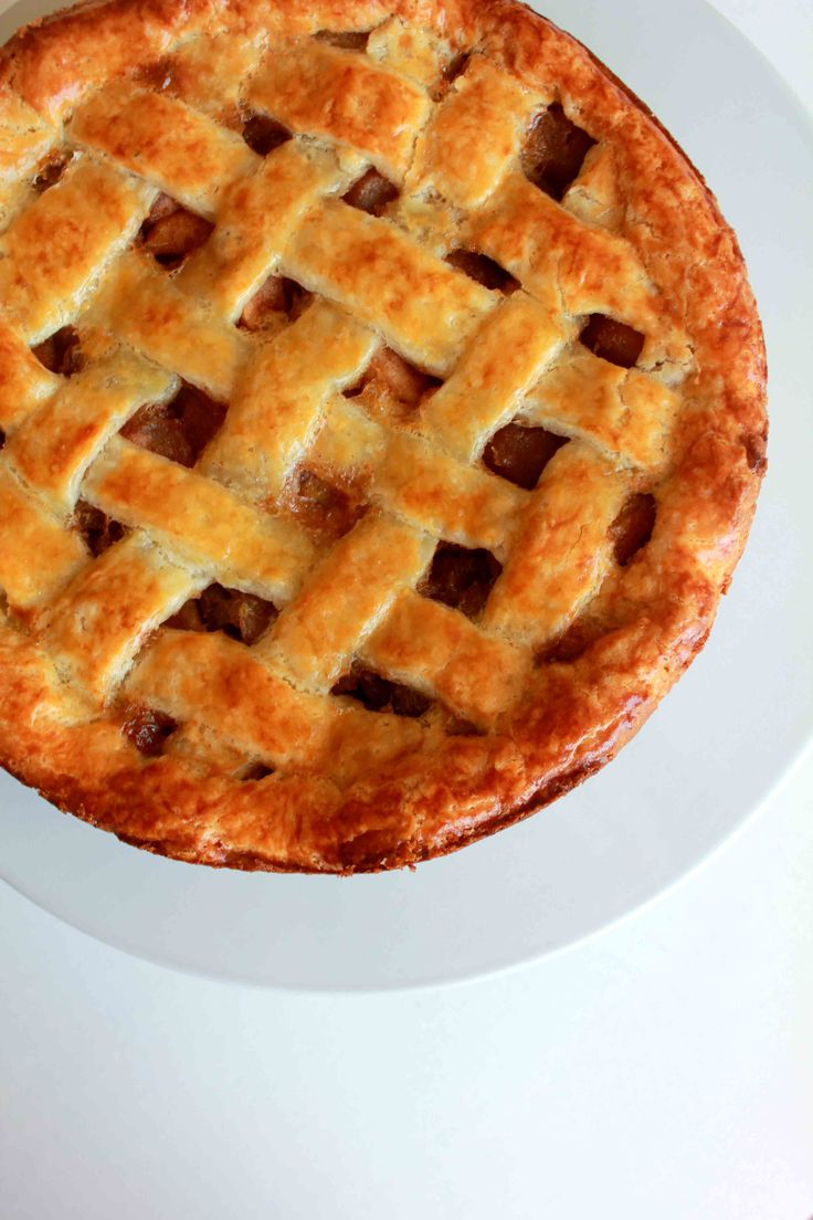 Apple Lattice Pie Apple Filling 8 Granny Smith apples 4 tbls unsalted ...