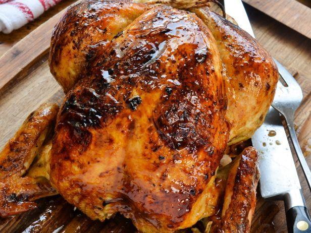 Whole Roast Chicken with Lemon and Herbs — Down-Home Comfort | FN ...