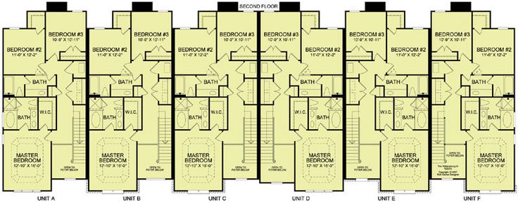 6 plex 4 2nd floor favorite places spaces pinterest for 6 plex floor plans