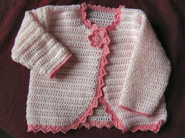 Primrose Crochet Jacket by Carol Chambers - C