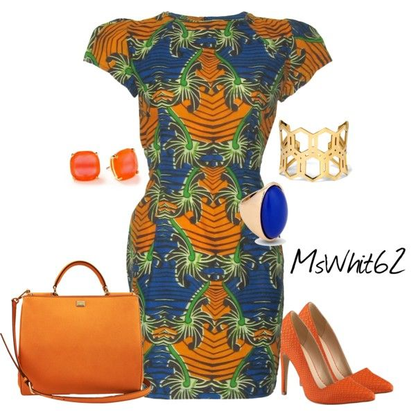 """African Print~Black History Month"" by mswhit62 on Polyvore"
