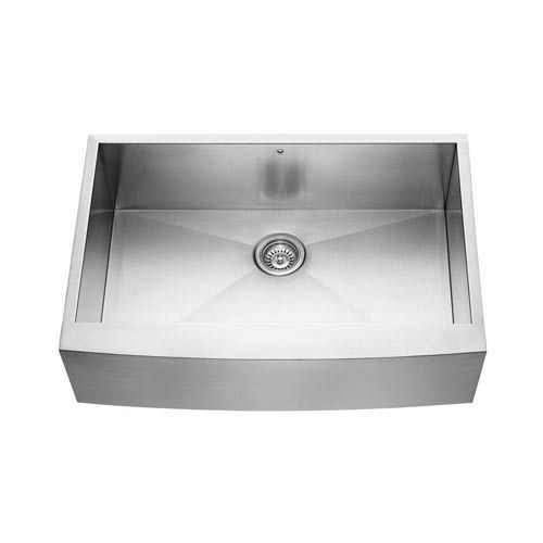 32 Farmhouse Sink : 32 Inch Farmhouse Stainless Steel Kitchen Sink, Grid And Strainer Vig ...