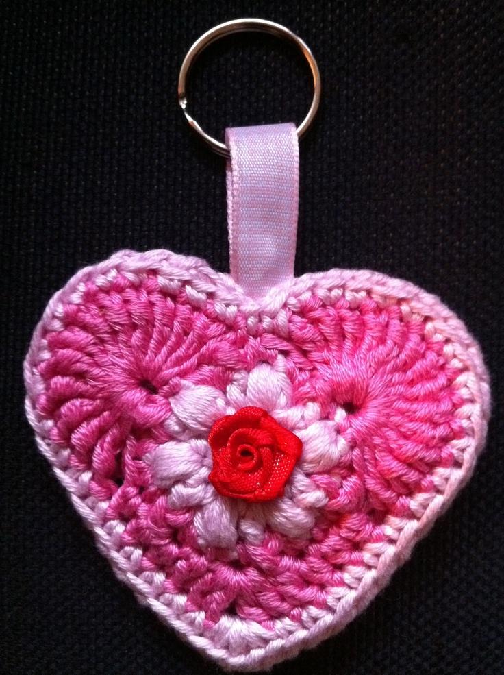 Crochet Keychain : Crochet keychain. crochet Pinterest