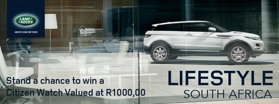 land rover lifestyle citizen watch giveaway this is a. Black Bedroom Furniture Sets. Home Design Ideas