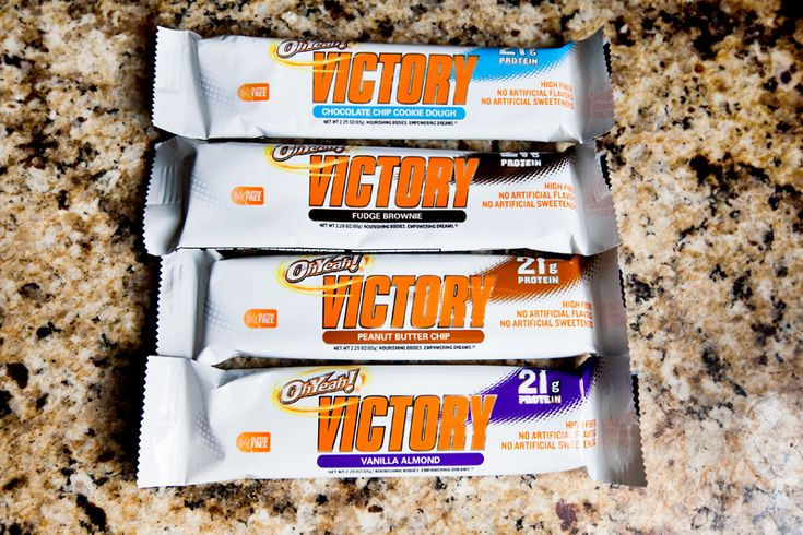 """protein bar!"""" -Great product review featuring OhYeah! Victory bars ..."""