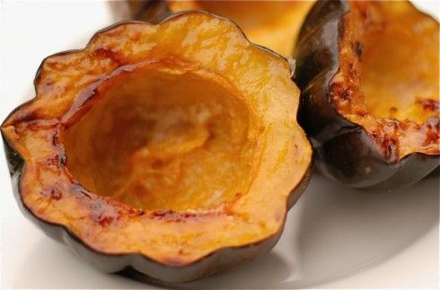 Maple Syrup Baked Acorn Squash | Sides & Appetizers | Pinterest