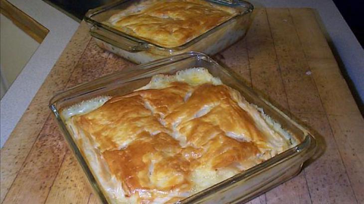 Chicken Pot Pie W/ Puff Pastry | Pastries, Meat, Pot Pies | Pinterest