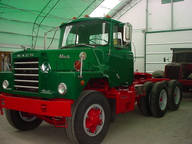 1968 Mack Truck : Mack dm big rigs pinterest
