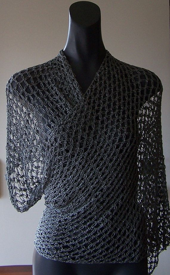 Crochet Pattern For Summer Shawl : Crochet Shawl Pattern. Summer Lace Shawl. PDF 016.