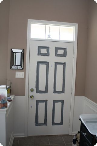 how to paint a door outdoors and plants pinterest. Black Bedroom Furniture Sets. Home Design Ideas