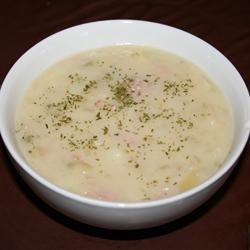 Delicious Ham and Potato Soup | yum | Pinterest