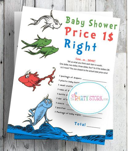 price is right baby shower game my baby shower pinterest