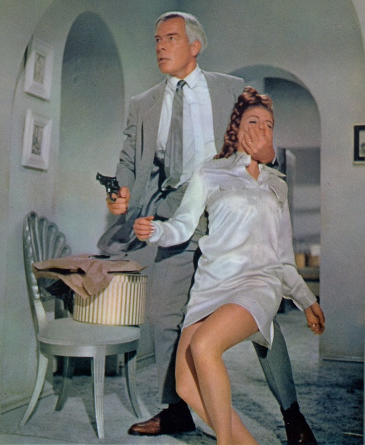 Lee Marvin and Sharon Acker, Point Blank (1967).