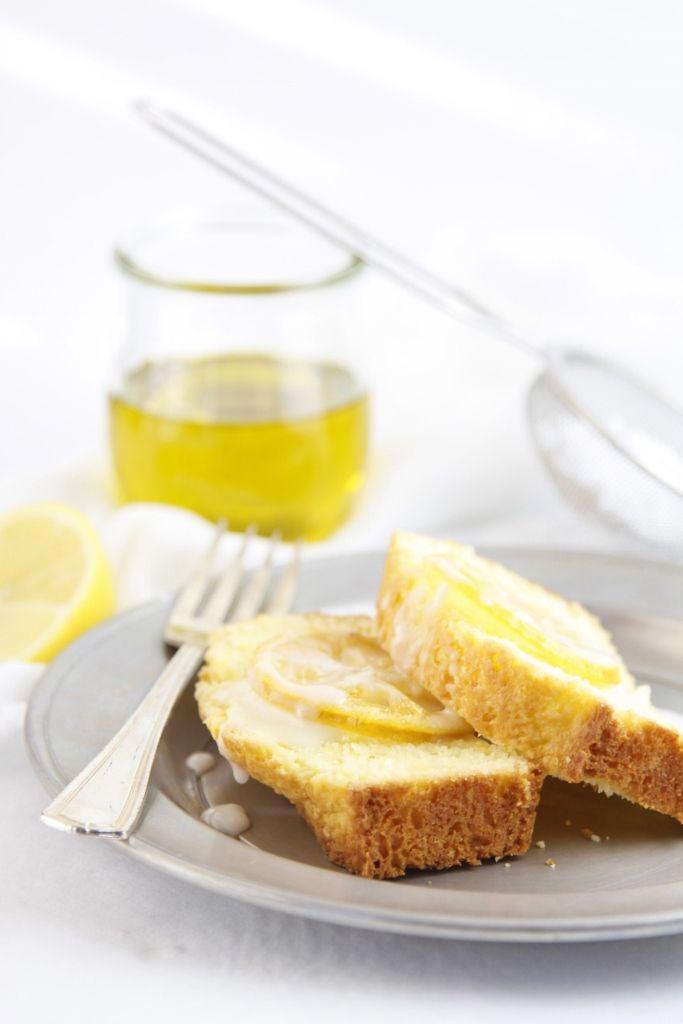 Lemon Olive Oil Cake www.bellalimento.com