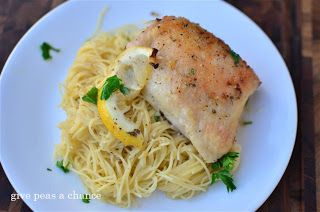 This Zesty Lemon Chicken is so good. Garlicky, lemony goodness.