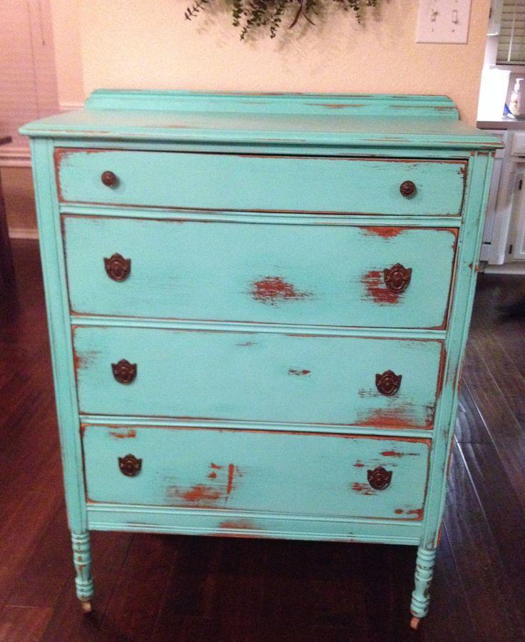 Chalk painted dresser feeling crafty pinterest - Chalk paint dresser ideas ...