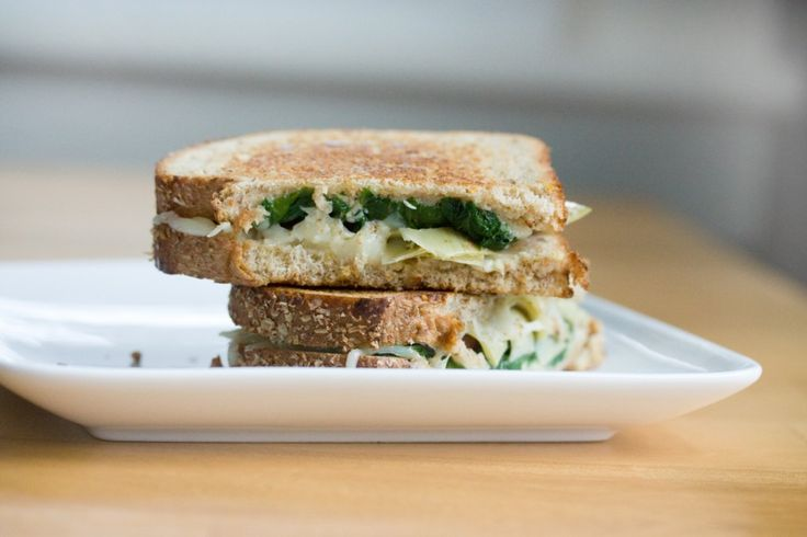 Spinach and Artchoke Grilled Cheese | Recipes-Sandwiches/Burgers | Pi ...