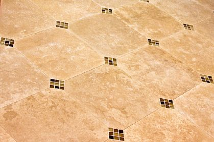 Caring for Travertine Tile - cleaning, stain removal,