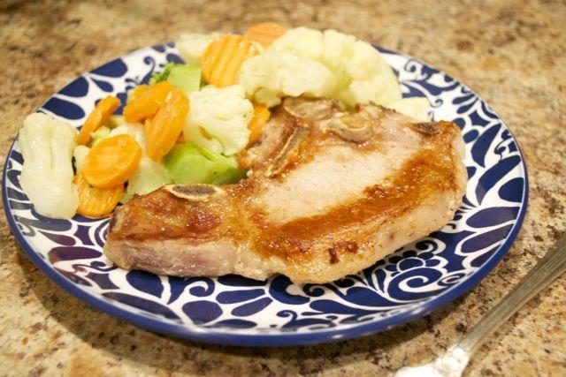 SCD Pan Fried Pork Chops w/ Simple Sauce | Scd Pork | Pinterest