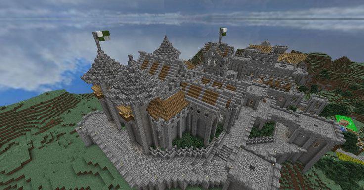 Minecraft Survival Castle | xXM1N3CRAFTXx | Pinterest