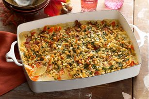 Carrot and Parsnip Gratin - creative use of bacon drippings and ...