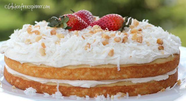 Gluten Free Spinner: Coconut | Cake | Pinterest