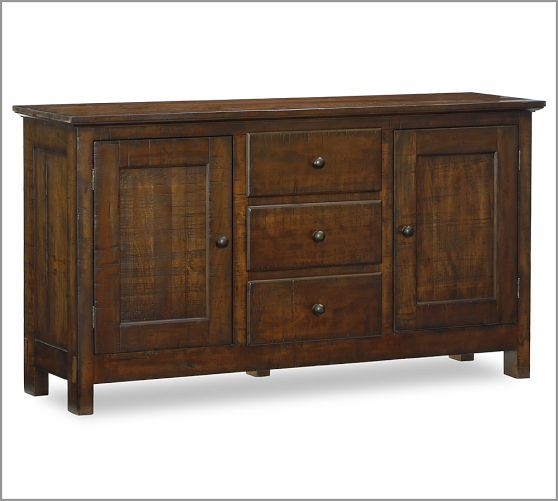 Benchwright buffet amp hutch pottery barn i d like something in this