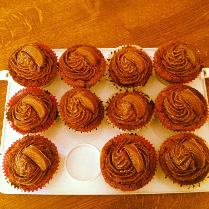 Chocolate orange cupcakes | A Piece Of Kate-My Cakes (Search on Faceb ...